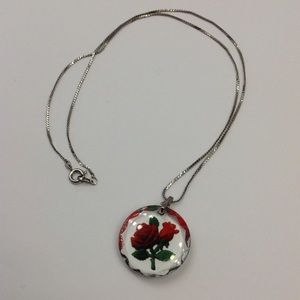 Jewelry - 🌹Gorgeous Rose Necklace🌹